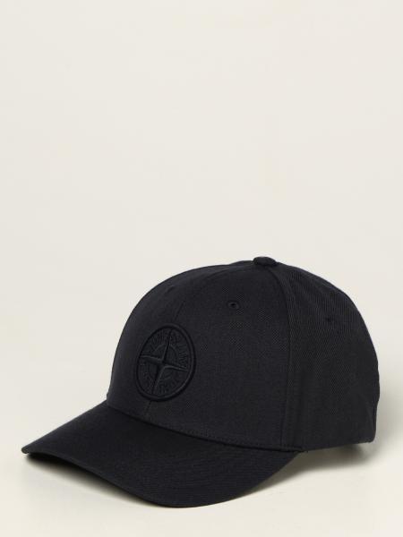 Stone Island men: Stone Island hat with logo