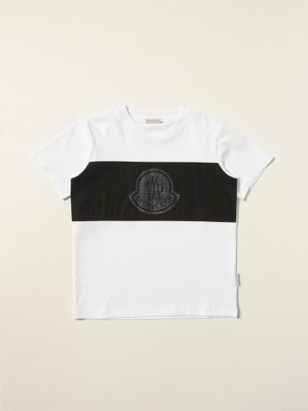 Moncler: T恤 儿童 Moncler