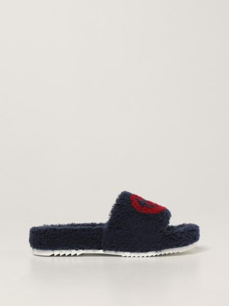 Gucci: Gucci sandal in synthetic fur