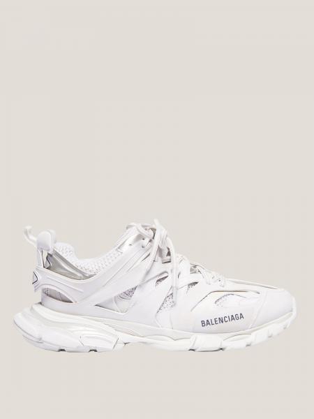 Sneakers Balenciaga in mesh e pelle