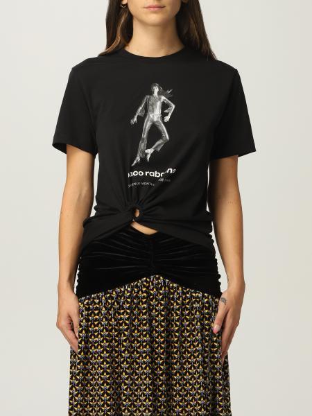 Paco Rabanne: T恤 女士 Paco Rabanne