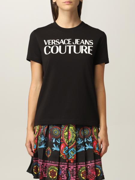 T-shirt Versace Jeans Couture in cotone con logo