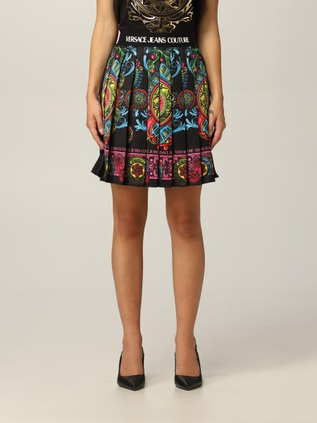 Versace Jeans Couture women: Versace Jeans Couture pleated skirt