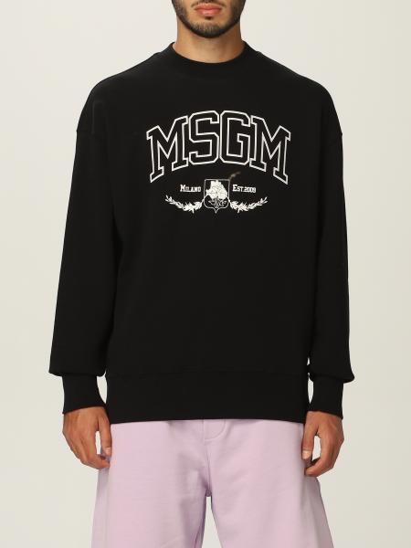 Msgm men: Msgm sweatshirt with logo