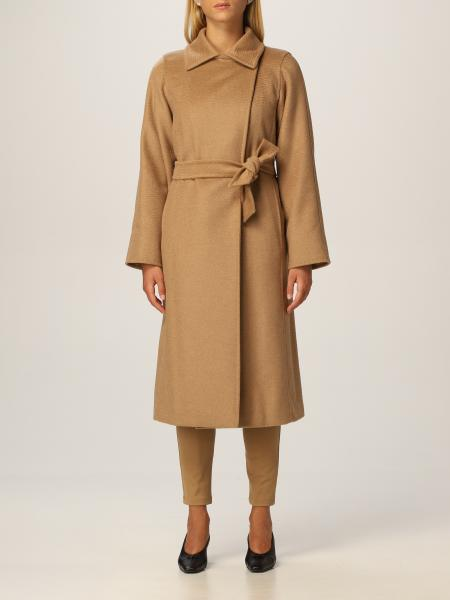 Max Mara: Cappotto Max Mara in lana di cammello