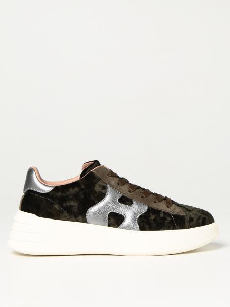Sneakers Rebel H562 Hogan in velluto