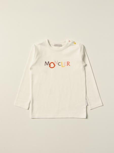 Moncler T-shirt with multicolor logo