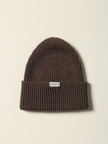 Woolrich beanie hat with logo