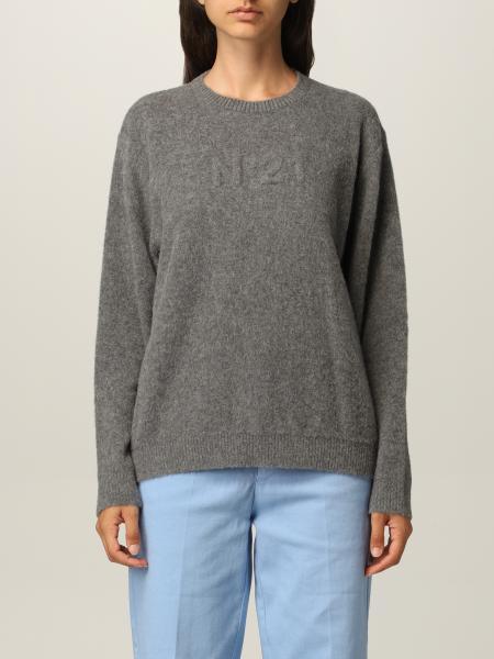 N ° 21 wool sweater with logo