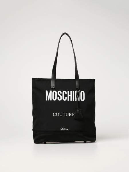 Borsa a spalla Moschino Couture in nylon