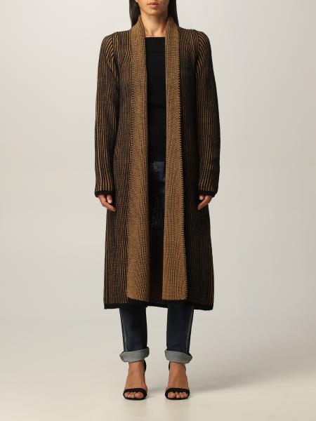 Cardigan lungo Liu Jo in misto lana