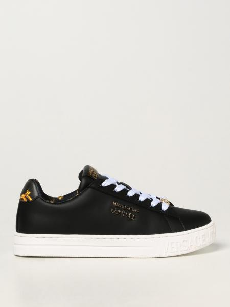 Sneakers Versace Jeans Couture in pelle liscia