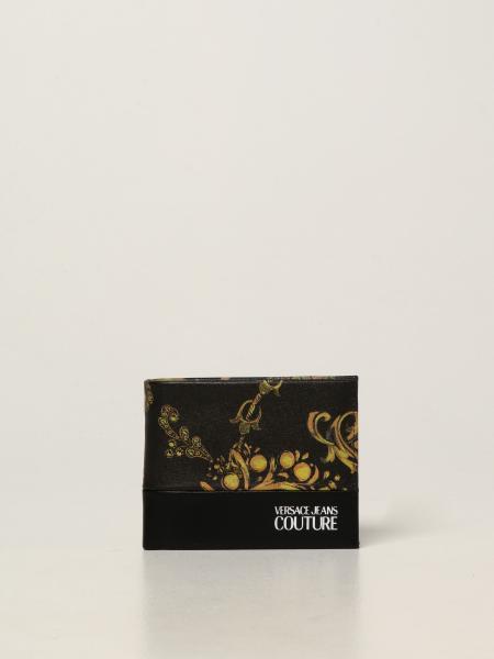 Versace Jeans Couture uomo: Portafoglio Versace Jeans Couture con stampa Regalia Baroque