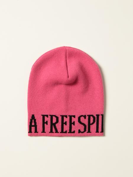 Alberta Ferretti donna: Cappello a berretto Alberta Ferretti con intarsio