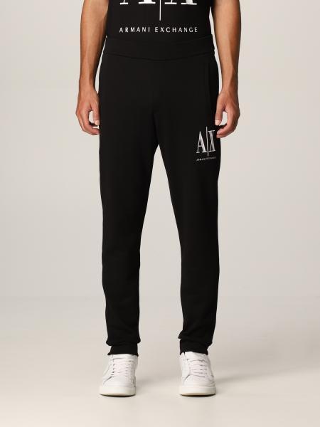 Pantalone jogging Armani Exchange in cotone con logo