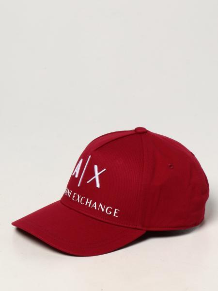 Cappello da baseball Armani Exchange con logo ricamato