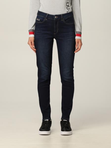 Liu Jo skinny 5-pocket jeans with logo
