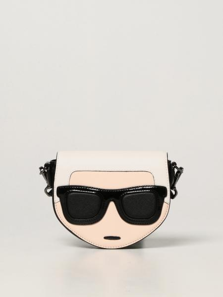 Karl Lagerfeld: Karl Lagerfeld Kids bag in synthetic saffiano leather