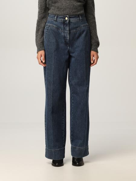 Alberta Ferretti donna: Jeans ampio Alberta Ferretti