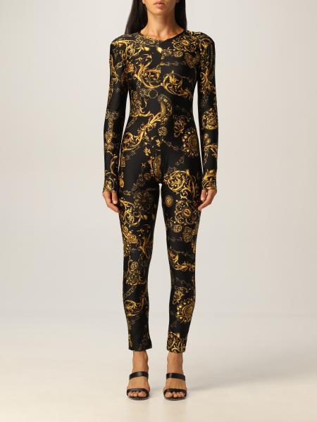 Versace Jeans Couture jumpsuit with Regalie Baroque print