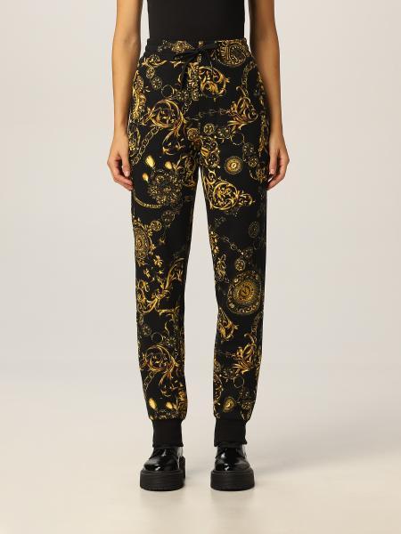 Pantalone Versace Jeans Couture con stampa Regalie Baroque
