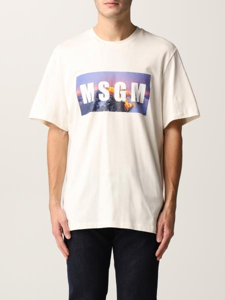 Msgm men: T-shirt men Msgm
