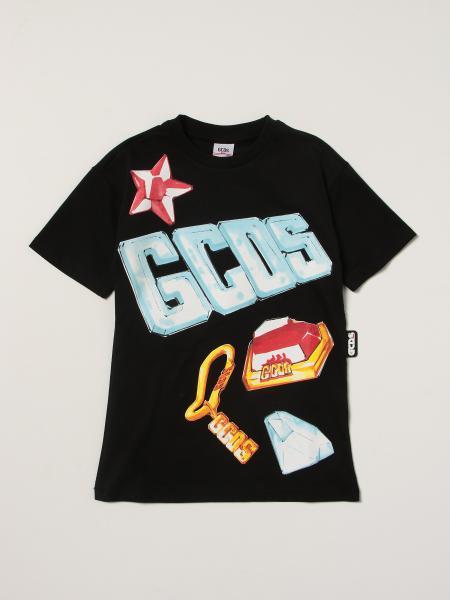 T-shirt Gcds in cotone con logo