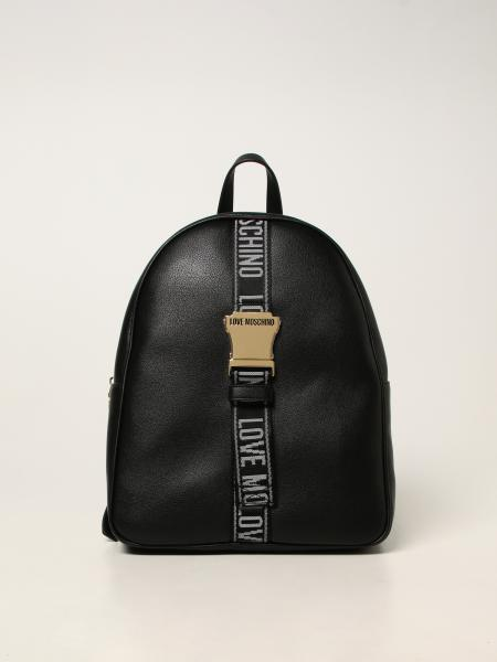 Love Moschino women: Love Moschino backpack in synthetic leather