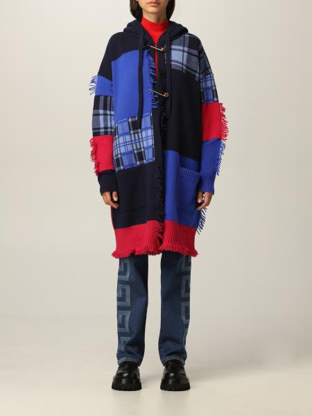 Cappotto Versace patchwork