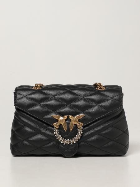 Love Lady Puff quilt Pinko bag in quilted nappa
