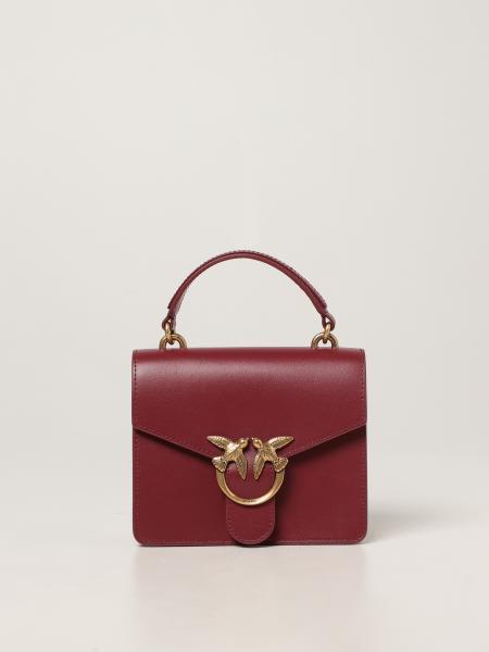 Love bag mini top handle Simply Pinko in calfskin