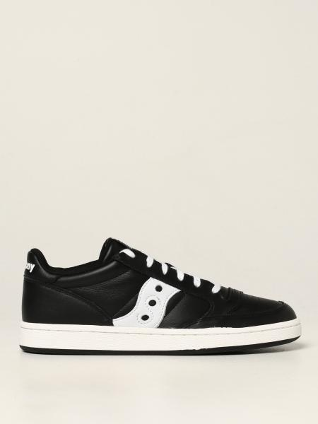 Saucony: Jazz Court Saucony trainers in leather