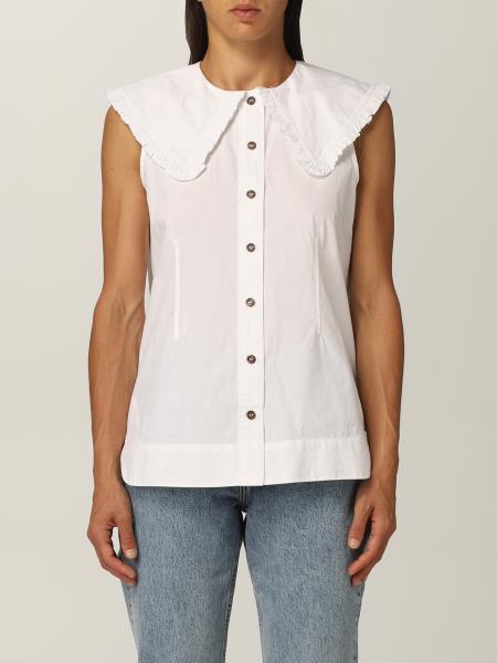 Ganni mujer: Camisa mujer Ganni