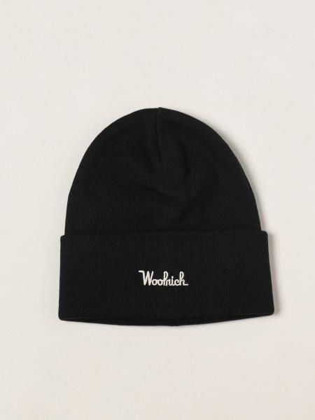 Woolrich beret hat in wool blend
