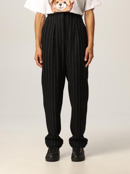 Pantalone Moschino Couture in gessato