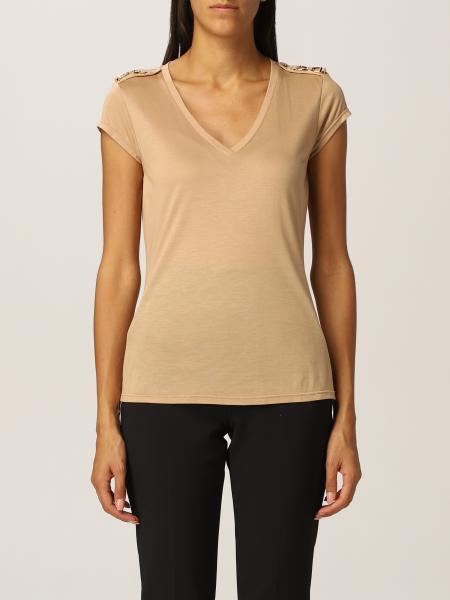 T-shirt Elisabetta Franchi con morsetti