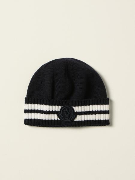 Moncler beanie hat in wool