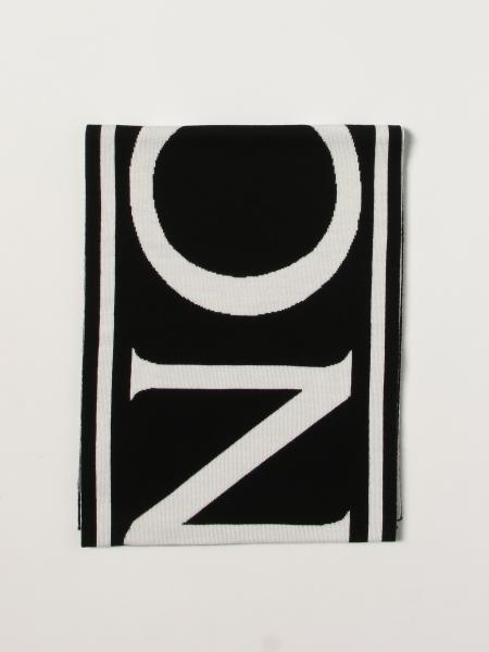 Moncler scarf with Big double logo