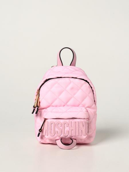 Moschino Couture backpack in quilted nylon