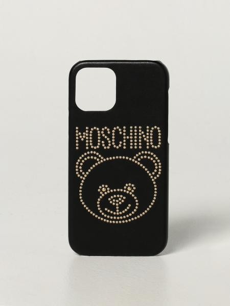 Cover Iphone 12/12 Pro Moschino Couture con Teddy