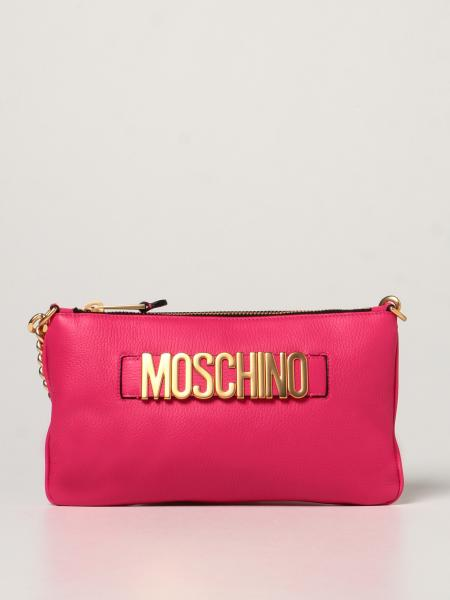 Moschino Couture bag in hammered leather