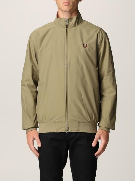 Giacca Brentham Fred Perry in twill di nylon