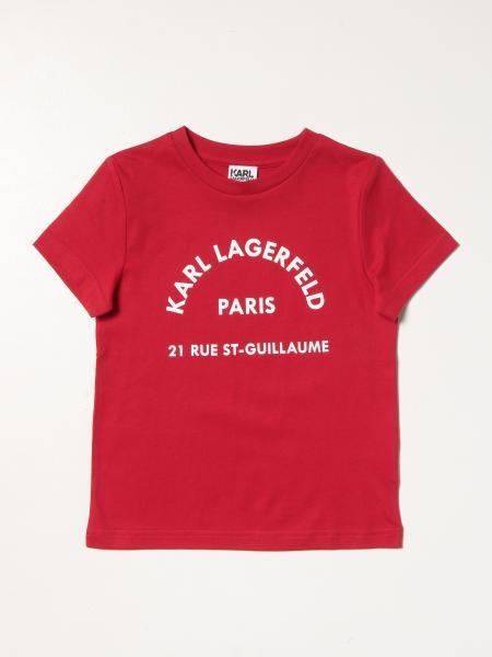 Karl Lagerfeld: Свитер Детское Karl Lagerfeld Kids