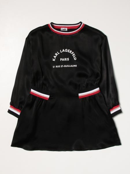 Karl Lagerfeld: Платье Детское Karl Lagerfeld Kids