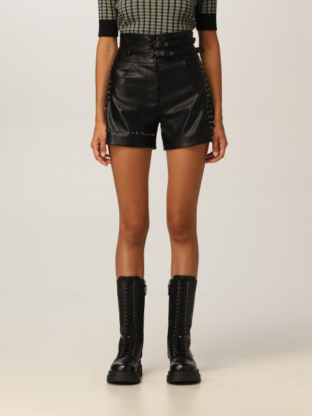 Pinko shorts with micro studs