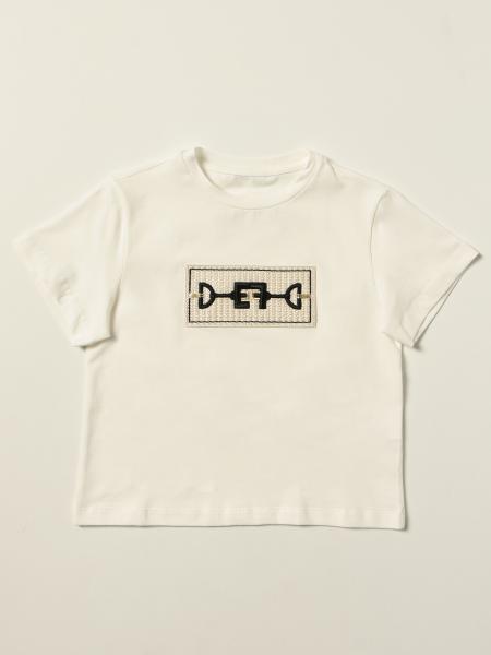 T-shirt Elisabetta Franchi in cotone con ricamo