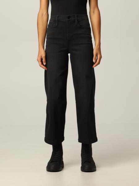 Frame: Jeans Frame largo in denim