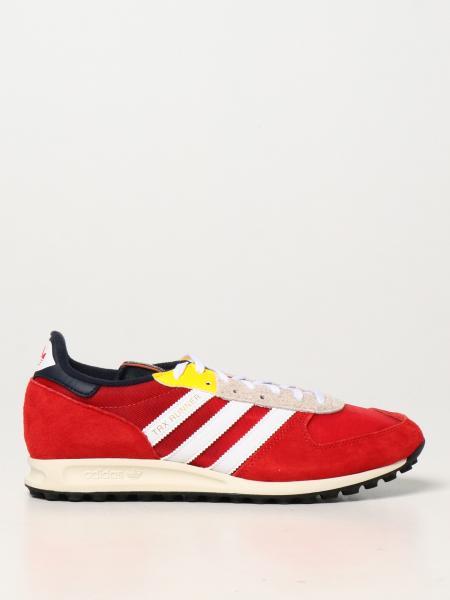 Sneakers TRX Vintage Adidas Originals in camoscio
