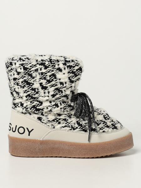 Puff Tweed Khrisjoy boots in virgin wool blend