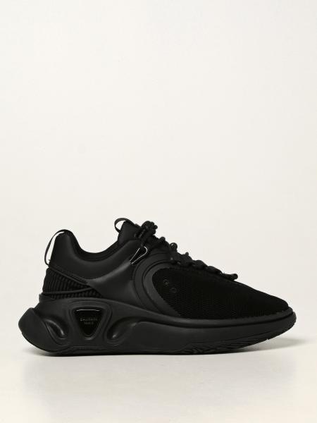 Sneakers B-Runner Balmain in pelle di vitello